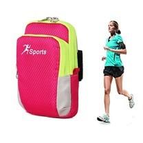 กระเป๋าคาดแขน ออกกำลังกาย Arm Bag Running Bag (สีชมพู)