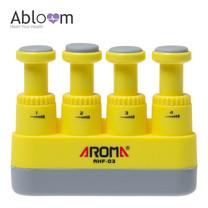 Aroma อุปกรณ์บริหารนิ้วมือ Finger Exerciser - สีเหลือง