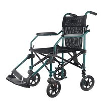 Super Compact Wheelchair รถเข็น วีลแชร์ สำหรับพกพา ขนาดเล็ก เหมาะกับการเดินทาง
