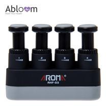 Aroma อุปกรณ์บริหารนิ้วมือ Finger Exerciser - สีดำ