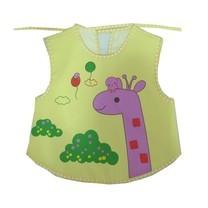 กันเปื้อนสำหรับเด็ก กันน้ำ ลายการ์ตูน Baby Bib (สีเหลือง)