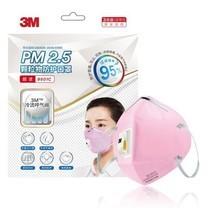 3M หน้ากาก N95 ป้องกัน ฝุ่นละออง PM 2.5 พับได้มีวาล์ว รุ่น 9501C Face Mask