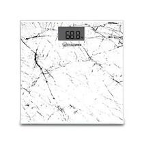 วัสดุกระจกนิรภัย ลายหินอ่อน เครื่องชั่งน้ำหนักดิจิตอล รุ่น Cosmo Digital Body Weight Bathroom Scale