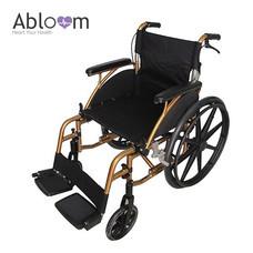 Abloom รถเข็นผู้ป่วย Aluminum Wheelchair (พับพนักพิงได้) ล้อแม็ก รุ่น Top