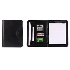 กระเป๋าเอกสาร จัดระเบียบ กระเป๋านักธุรกิจ Business Portfolio Folder Document Case Organizer & Calculator - สีดำ