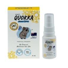 Quokka Mozzie Spray ควอกก้า สเปรย์ไล่ยุง และแมลง สารสกัดจากธรรมชาติ 100%