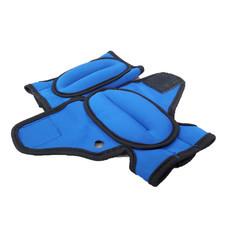 ถุงมือทราย เพิ่มน้ำหนัก ออกกำลังกาย แอโรบิค Weight Gloves (  สีน้ำเงิน 250 g)