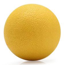 ลูกบอลนวด คลายกล้ามเนื้อ(สีเหลือง) TPE Massage Ball