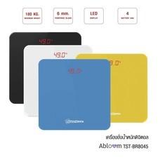 หรูหรา วัสดุกระจกนิรภัย เครื่องชั่งน้ำหนักดิจิตอล รุ่น TS-B8045 Digital Body Weight Bathroom Scale