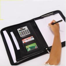 กระเป๋าเอกสาร จัดระเบียบ กระเป๋านักธุรกิจ Business Portfolio Folder Document Cas ( สีดำ )
