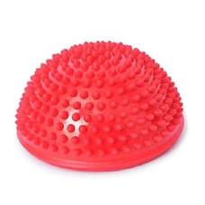 Abloom ลูกบอลนวด ฝึกการทรงตัว ลูกบอลหนาม ครึ่งวงกลม (สีแดง) Spiky Hemisphere Massage Balancing Ball