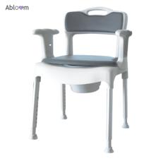 2 IN 1 เก้าอี้อาบน้ำ เก้าอี้นั่งถ่าย อเนกประสงค์ รุ่น Etac Swift Commode (สินค้านำเข้าจากสวีเดน)