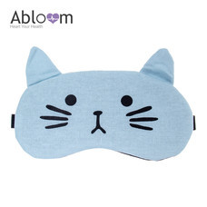 Alboom ผ้าปิดตา พร้อมเจล รุ่น Little Cat - สีฟ้า