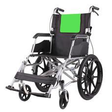 Abloom รถเข็นผู้ป่วย เหล็กชุบ 2 โทนสี ทันสมัย Modern Design Steel Wheelchair (สีเขียว/ดำ)