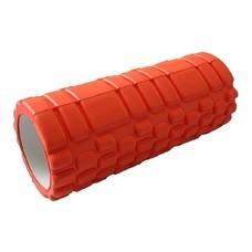 Abloom Foam Roller โฟมโรลเลอร์ โฟมนวดกล้ามเนื้อ วัสดุ EVA ขนาด 33 ซม. (สีส้ม)