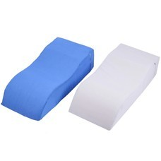 หมอนรองขา ทรงสามเหลี่ยม มีซิป Triangle Shape Leg Pillow , Bed Wedge Pillow