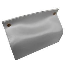 Orzer กล่องทิชชู่ หนัง PU สไตล์ สแกนดิเนเวียน กันฝุ่น ( สีเทา) Tissue Box PU material Nordic Style