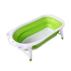 อ่างอาบน้ำเด็ก แบบพับได้ Baby Folding Bath Tub