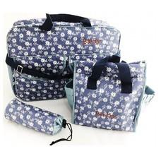 เซ็ต กระเป๋าคุณแม่ กระเป๋าขวดนม เก็บสัมภาระ Mom Carry Bag Set (สีฟ้า)