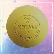ลูกบอลนวด คลายกล้ามเนื้อ Lacrosse Rubber Massage Ball (สีเหลือง)