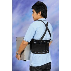 Abloom เข็มขัดพยุงหลัง พยุงเอว Back Support Belt ใส่ยกของได้ อุปกรณ์พยุงหลัง ป้องกันการบาดเจ็บ