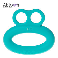 Abloom ซิลิโคนบริหารมือ ทรงแหวน Silicone Ring Hand Exerciser - สีฟ้า