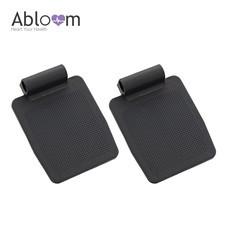 Abloom อะไหล่ที่วางเท้า สำหรับรถเข็นผู้ป่วย 1 คู่ - สีดำ
