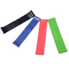 เซ็ต ยางยืดออกกำลังกาย แบบวงกลม 4 เส้น 4สี - ขนาด 50 ซม.