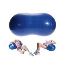 ลูกบอลโยคะ ทรงถั่ว สำหรับออกกำลังกาย (สีน้ำเงิน) Peanut Yoga Ball