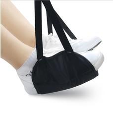 ที่วางเท้าพกพา ลดอาการปวดเมื่อย Travel Aid Footrest Hammock - สีดำ