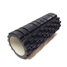Abloom Foam Roller โฟมโรลเลอร์ โฟมนวดกล้ามเนื้อ วัสดุ EVA ขนาด 33 ซม. (สีดำ)