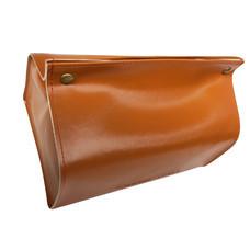 Orzer กล่องทิชชู่ หนัง PU สไตล์ สแกนดิเนเวียน กันฝุ่น ( สีน้ำตาลส้ม) Tissue Box PU material Nordic Style