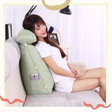 เบาะรองหลัง หมอนพิงหลัง หมอนอิงโซฟา ทรงสามเหลี่ยม Triangle Back Lumbar Pillow Sofa Pillow