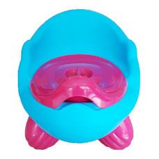 กระโถน โถนั่งเด็ก Baby Toilet Training Seat ( สีฟ้า )