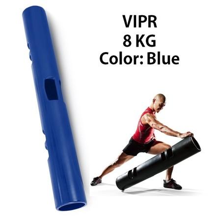 ViPR ไวเปอร์ อุปกรณ์ออกกำลังกายทรงกระบอก กระบอกน้ำหนัก Fitness Tube Viper ( สีน้ำเงิน)
