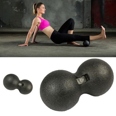 ลูกบอลนวด ทรงถั่ว คลายกล้ามเนื้อ EPP Peanut Massage Ball (Black)