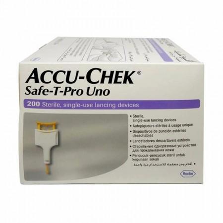 Accu Chek Safe-T-Pro-UNO 200 ชิ้น