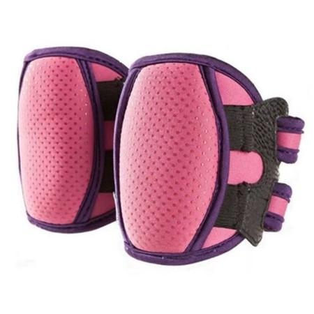 Abloom สนับเข่าเด็ก สำหรับหัดคลาน เดิน แบบหนาพิเศษ Super-Thick Baby Knee Pads(Pink)