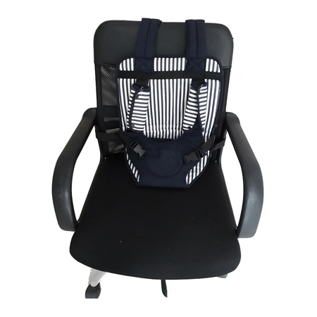 คาร์ซีท เบาะรองนั่งในรถ สำหรับเด็ก ( สีฟ้า )Multi Function Baby Car Seat Cushion