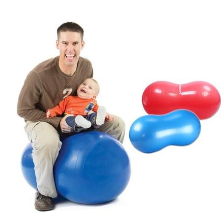 ลูกบอลโยคะ ทรงถั่ว สำหรับออกกำลังกาย (มีสีให้เลือก) Peanut Yoga Ball