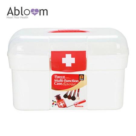 Abloom กล่องยา ปฐมพยาบาล อุปกรณ์ทางการแพทย์ กล่องใส่ของ First Aid Kit Box ,Large Size