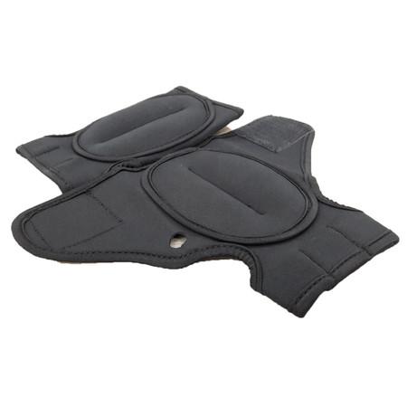 ถุงมือทราย เพิ่มน้ำหนัก ออกกำลังกาย แอโรบิค Weight Gloves ( สีดำ 250 g)