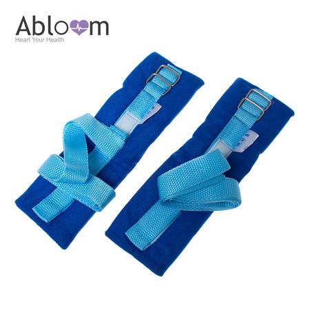Alboom สายรัดข้อมือ ป้องกันผู้ป่วยดิ้น Wrist Strap for Patient - สีฟ้า