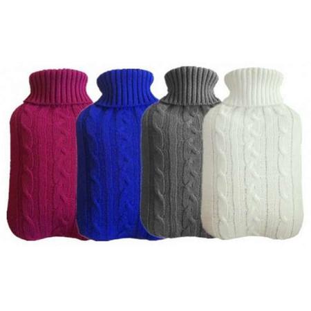 Abloom กระเป๋าน้ำร้อน พร้อม ปลอกผ้า ขนาด 1700 cc.Hot Water Bottle Warmer with Cover - มีสีให้เลือก