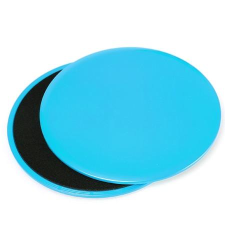 แผ่นสไลด์ ออกกำลังกาย 2 ชิ้น Sliding Gliding Disc 2 PCS Fitness Gliders