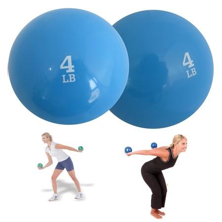 ลูกบอลทราย น้ำหนัก 4 ปอนด์ ( 1 คู่ )