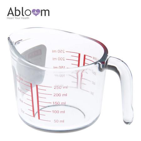 Abloom แก้วตวง ทนความร้อนสูง ขนาด 250 มิลลิลิตร