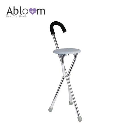 Abloom ไม้เท้า 3 ขา Foldable Seat Cane (สำหรับกางนั่งพัก) - Grey
