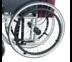 Abloom อะไหล่ ล้อพร้อมยาง สำหรับรถเข็นผู้ป่วย 21 นิ้ว - AB0204 (ราคาต่อล้อ) Spare part Wheel 21 inch