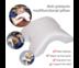 Abloom หมอนนอน ทรงโค้งเว้า เพื่อสุขภาพ รุ่นสอดแขนได้ Curvy Ergonomic Health Pilllow (Memory Foam)